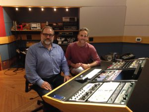 Mastering the Max Croft album at Lacquer Channel, Toronto, with Noah Mintz